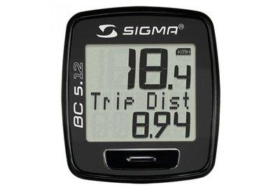 Kilometer teller Sigma BC 5.12