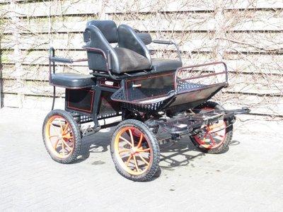 """Pony 1/2sp. recreatiewagen 16"""" VERKOCHT"""