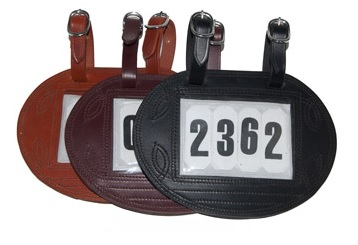 Nummerhouder Ovaal (4 nummers)