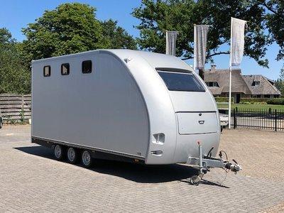 Unieke 3/4 paards trailer en koets