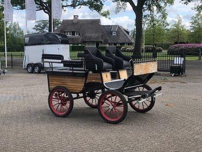 Doorloopwagen 1-2Sp. paard