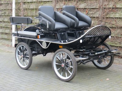 Z.g.a.n. Doorloop/recreatiewagen pony 21""