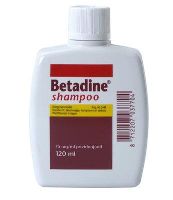 Betadine shampoo REG NL 3448