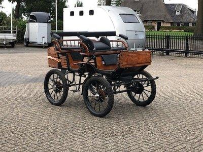Jacht/ recreatiewagen pony/cob 23 inch