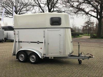 Blomert 2 paards trailer Aluminium nieuwstaat