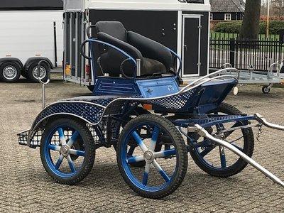 Mooie Karo 1sp marathonwagen pony